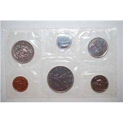 1983 Canada Mint Foreign Coin Set; UNC; Royal Canadian Mint; EST. $5-10