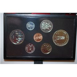 1977 Canada Mint Foreign Proof Coin Set; Royal Canadian Mint; EST. $10-15