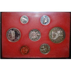 1973 Canada Mint Foreign Proof Coin Set; Royal Canadian Mint; EST. $5-10