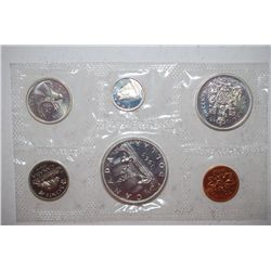 1965 Canada Mint Foreign Coin Set; UNC; Royal Canadian Mint; EST. $20-30