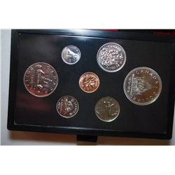 1976 Canada Mint Foreign Proof Coin Set; Royal Canadian Mint; EST. $5-10