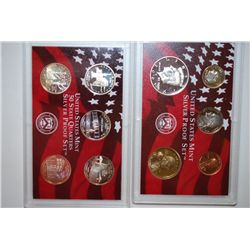2001-S US Mint Silver Proof Set With US State Quarter Mint Silver Proof Set; EST. $39-45