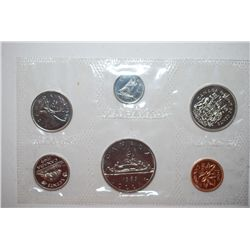 1969 Canada Mint Foreign Coin Set; UNC; Royal Canadian Mint; EST. $5-10