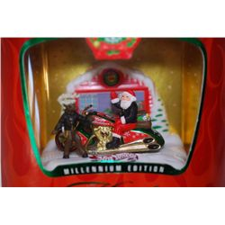 1999 Mattel Hot Wheels Inc. Holiday Millenium Edition; Scorchin' Scooter; EST. $10-40