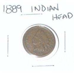 1889 INDIAN HEAD PENNY *NICE PENNY-PLEASE LOOK AT PICTURE TO DETERMINE GRADE*!!