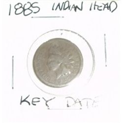 1885 INDIAN HEAD PENNY *RARE KEY DATE - NICE COIN*!!