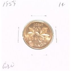 1959 CANADIAN 1 CENT PENNY *PLEASE LOOK AT PICTIRE TO DETERMINE GRADE*!!