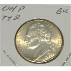 2004-P TYPE II JEFFERSON NICKEL *RARE BU UNC HIGH GRADE - NICE COIN*!!