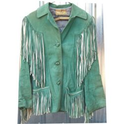 Porter 40's fringed coat