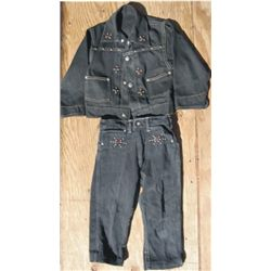 Billy the Kid denim outfit