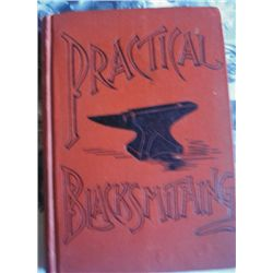 1891 Practical Blacksmithing book