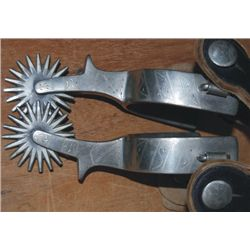 Buermann etched spurs
