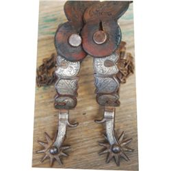 Circa 1900-1915 Calif style trophy spurs