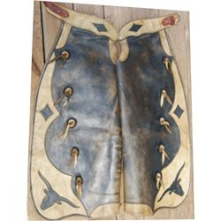 Great West Saddlery two color batwings