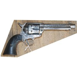 colt single action .38 engraved