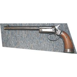 "Stevens .22 tip up pistrol, 8"" barrel"
