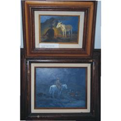 2 Bill Chappell oil paintings