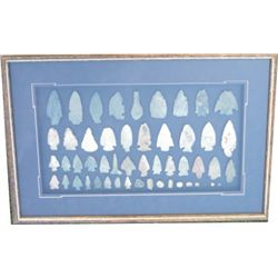 Frame of arrow heads