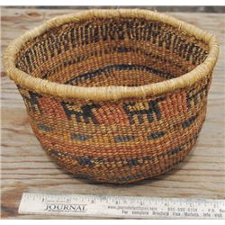 Indian figural basket