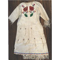 Beaded northern plains dress