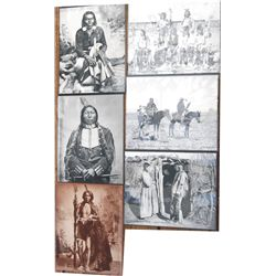 6 1800-early 1900's Hoffman Indian photos