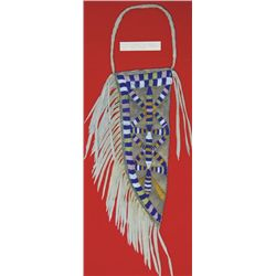 Santee Sioux style beaded knife sheath