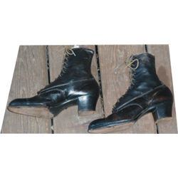 antique ladies hi top boots