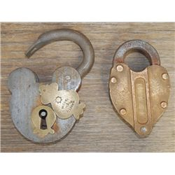2 old locks, no key