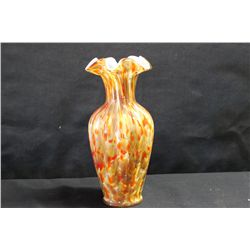 FENTON VASA MURRHINA GLASS VASE - 1 OF A KIND - MINT 11.5""