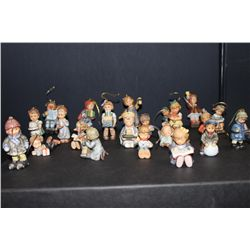 HUMMEL CHRISTMAS DECORATIONS - ALL MINT