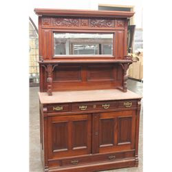 VICTORIAN PERIOD CHERRY SIDEBOARD