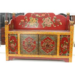 HIGHLY DECORATED BLANKET BOX
