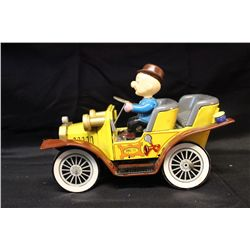 ORIG. BOX MR. MAGOO CAR - BATTERY OPER. BY HUBLEY -1961 - NEAR MINT