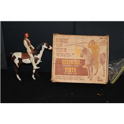 BEST OF THE WEST GERONIMO & PINTO TOY - COMPLETE BY MARX