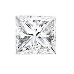 CERT. 1.02 CTW PRINCESS CUT DIAMOND E/VS1