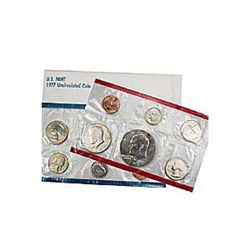 Uncirculated Mint Set 1977