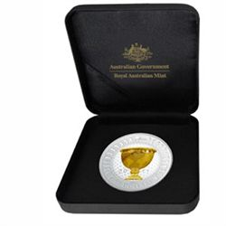 2011 5 oz Proof Silver Presidents Cup Coin
