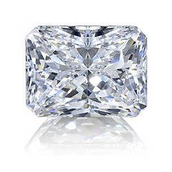 Diamond EGL Certified Radiant 0.50 ctw F,VS2