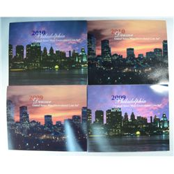 2007, 2008, 2009, 2010  UNITED STATES UNCIRCULATED SETS
