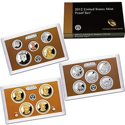 2012 UNITED STATES 14 PIECE PROOF SET