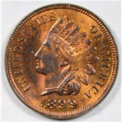 1899  Indian penny  MS63  R/B