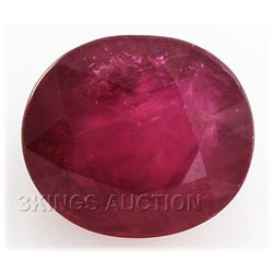8.75ctw African Ruby Loose Gemstone