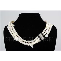 896.50CTW 20in. SIOPAO WHITE PEARL NECKLACE
