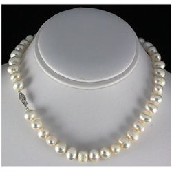 258.58ctw Freshwater Pearl Necklace w/ 14KWG Clasp