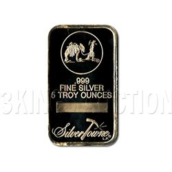 Silver Bars: Random Manufacturer 5 oz Bar .999 fine