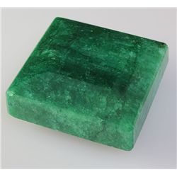 Emerald 168.46 ctw Loose Gem 31.58x32.80mm Square Cut