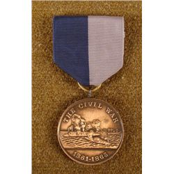RARE CIVIL WAR MEDAL FROM THE U S NAVY FOR SERVICE