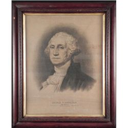George Washington Antique Art Print E.L. Kellogg 1896