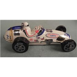 Ezra Brooks #21 Vintage Race Car Decanter MINT 1971