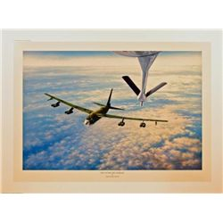 Aviation Art Fill Up for the Cadillac Young B-52
